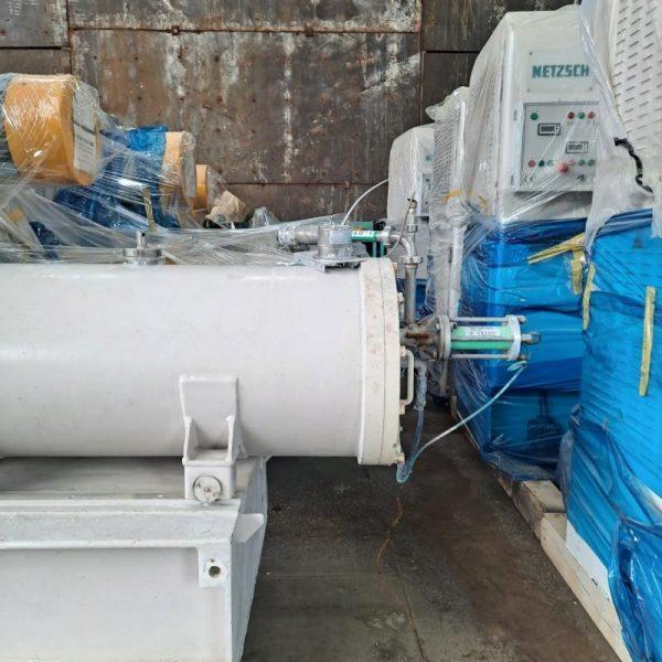 7 Gal Netzsch Model LMZ 25 Stainless Steel Sand Mill