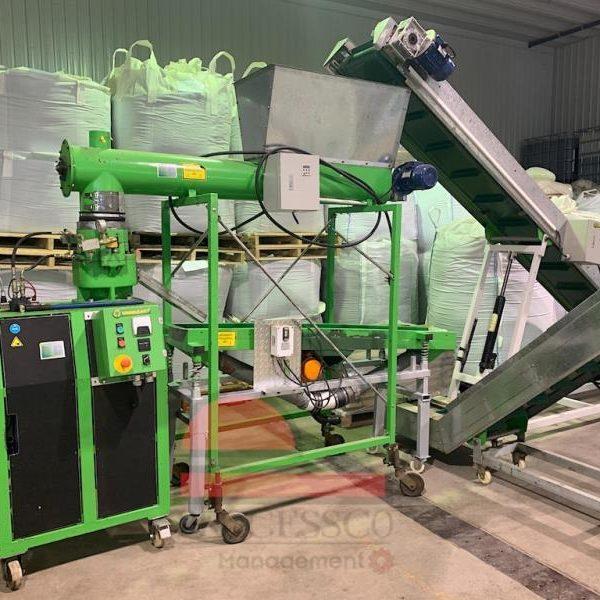 Granulart Pellet Plant 500 Kg Per Hour