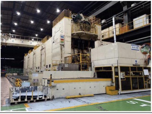 800 Ton IHI Hydraulic Tandem Press Line