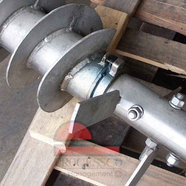 Rebuilt  Sprout Dual Drive Feeder Conditioner Shaft