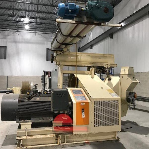 500 HP La Meccanica Model 935 MLG Pellet Mill