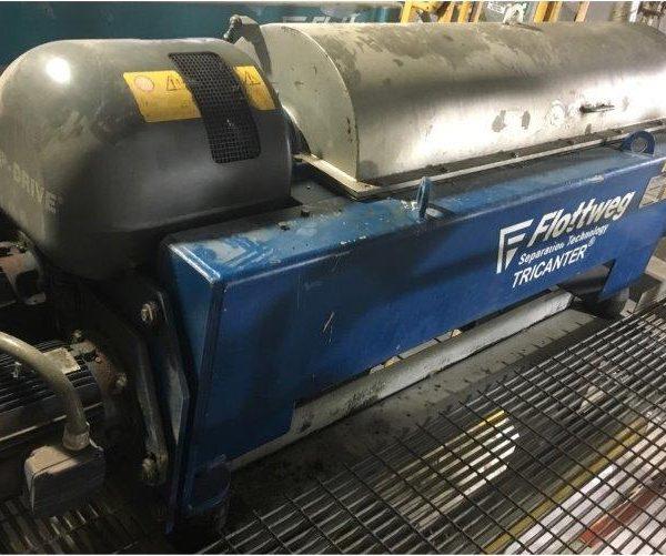 Flottweg Tricanter Centrifuge Mdl Z4E-4/441