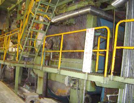 3.6M (144″) Wide, 2.0M (78″) Trim Paper Machine