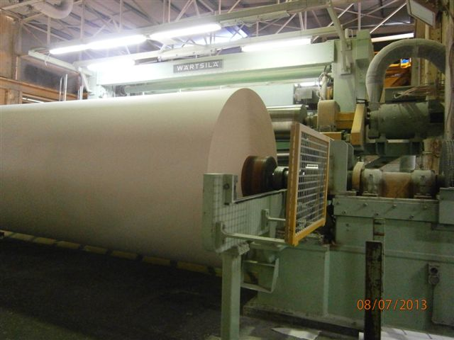 Used 48 Quot Beloit Pneumatic Reel Zw60792 Paper Machines