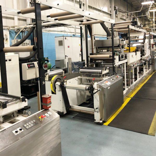 20″ ETI Cohesio 2000 Hot Melt Coating Machine for Pressure Sensitive Coating
