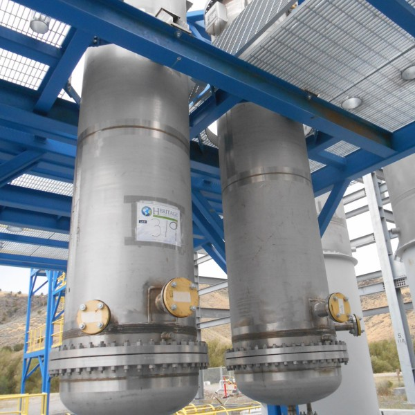 New Shell and Tube Heat Exchangers