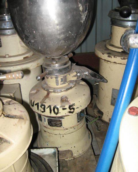 3 HP PUC Kolloidtechnik Type JV14 Stainless Steel Colloid Mill