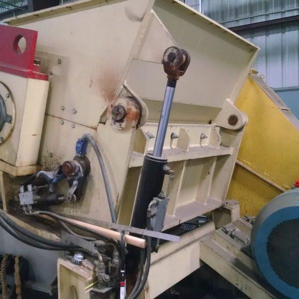 335 HP 34″ X 64″ Previero Film Granulator