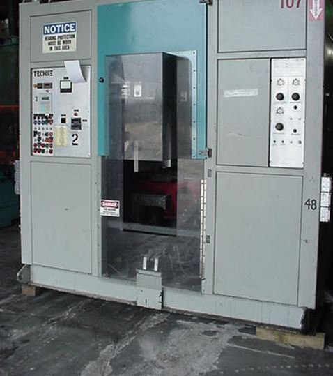 Techne 20000 Continuous Dual-Head Blow Molder